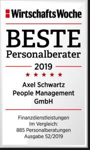 Beste Personalberater 2019 Wirtschaftswoche WiWo