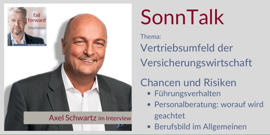 Axel Schwartz im SonnTalk mit Managementberater Steffen Becker